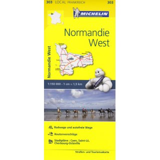 Normandie West 1:150.000