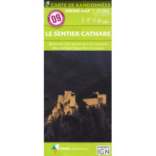 09 Le Sentier Cathare 1:50.000