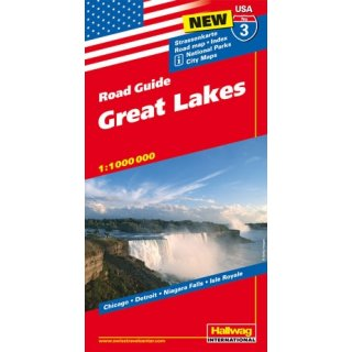 USA/ 3 Great Lakes 1:1.000.000