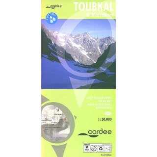 Toubkal & Marrakech 1:50.000