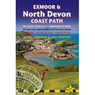 South West Coast Path Part 1 - Exmoor & North Devon (Minehead to Bude)