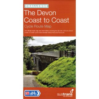 Devon Coast to Coast 1:100.000