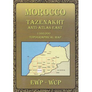 Morocco (HN): Tazenakht and the Eastern Anti-Atlas   1:160.000