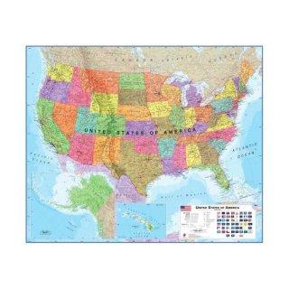 USA politisch Maps International - LandkartenSchropp.de Online Shop