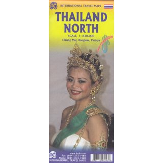 Thailand North 1:830.000