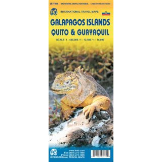 Galapagos Islands, Quito & Guayaquil 1 : 420.000 / 1 : 12.500 / 1 : 10.000
